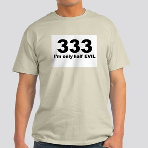 333-half evil Ash Grey T-Shirt