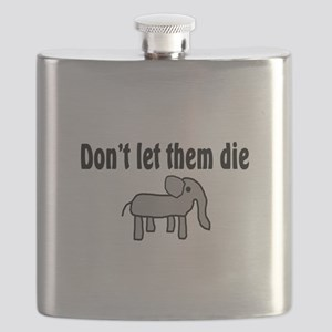 Save the Elephants Flask