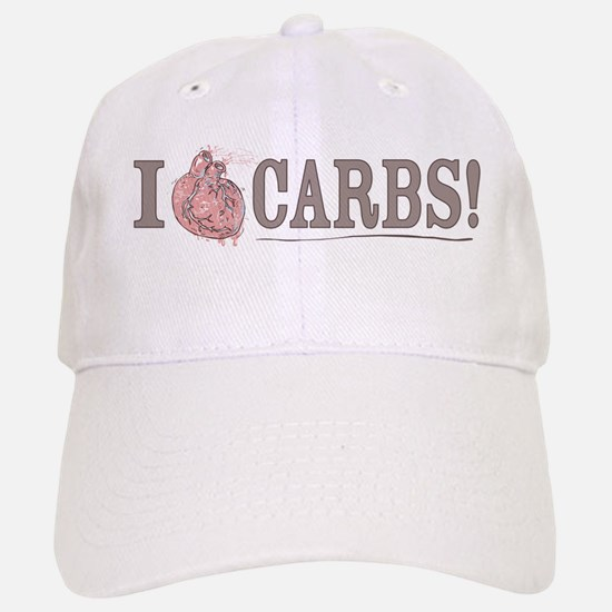 I Love Carbs Baseball Baseball Cap