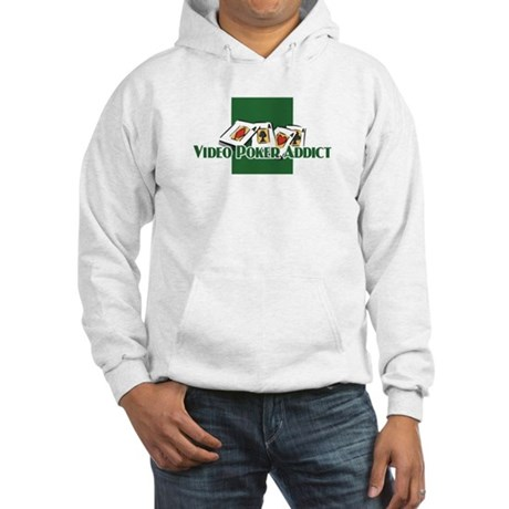 Video Poker Hooded Sweatshirt