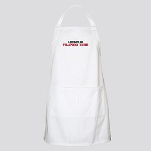 Filipino Time Party Apron