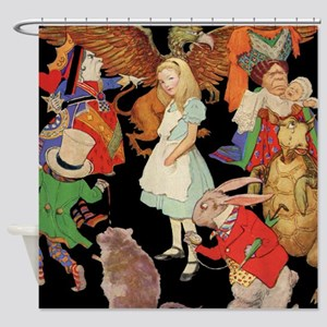ALICE SQ Shower Curtain