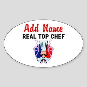 BEST CHEF Sticker (Oval)