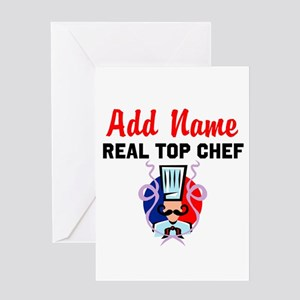 BEST CHEF Greeting Card