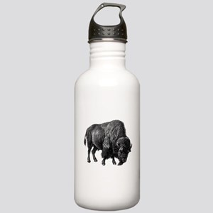 Vintage Bison Stainless Water Bottle 1.0L