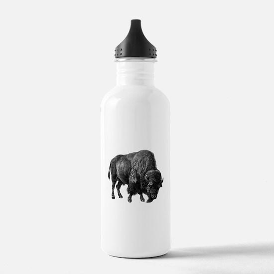 Vintage Bison Water Bottle