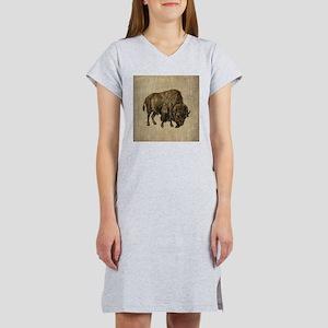 Vintage Bison Women's Nightshirt