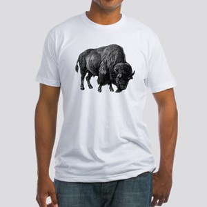 Vintage Bison Fitted T-Shirt