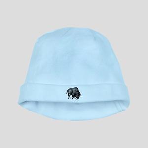 Vintage Bison baby hat
