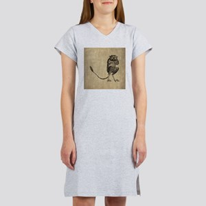 Vintage Lemur Women's Nightshirt