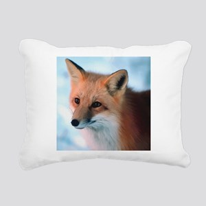 Cute Fox Rectangular Canvas Pillow