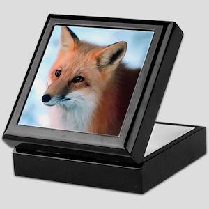 Cute Fox Keepsake Box