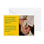 'Kindness Blesses' Greeting Card
