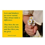 'Kindness Blesses' Postcards (Package of 8)