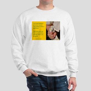 'Kindness Blesses' Sweatshirt