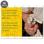'Kindness Blesses' Puzzle