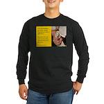 'Kindness Blesses' Long Sleeve Dark T-Shirt