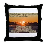'A spark' Throw Pillow