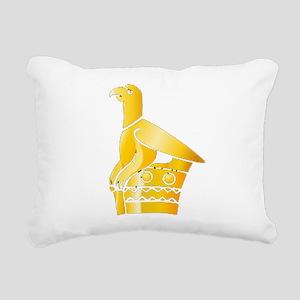 Great Zimbabwe Bird Rectangular Canvas Pillow