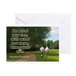 'Do What You Can' Greeting Card