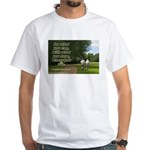 'Do What You Can' White T-Shirt