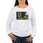 'Do What You Can' Women's Long Sleeve T-Shirt