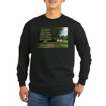 'Do What You Can' Long Sleeve Dark T-Shirt