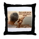 'Echoes' Throw Pillow