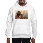 'Echoes' Hooded Sweatshirt