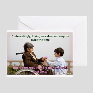 'Presence' Greeting Card