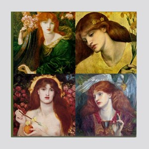 Rossetti Collage Tile Coaster