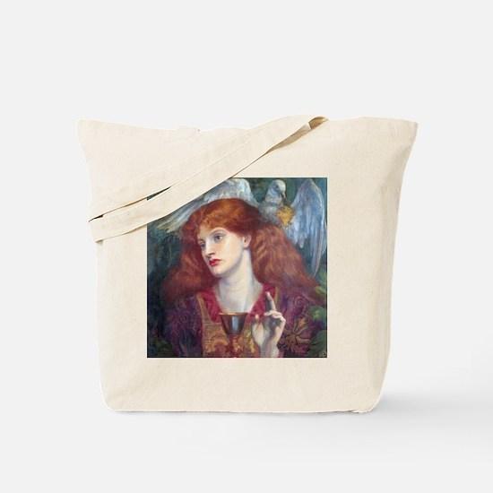 Rossetti Damsel Sanct Grael Tote Bag