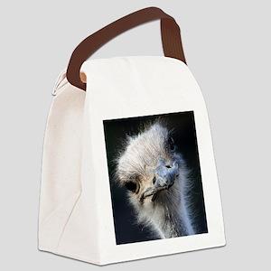 Ostrich Canvas Lunch Bag