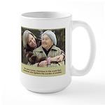 'Cherished' Large Mug