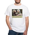 'Cherished' White T-Shirt
