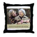 'Cherished' Throw Pillow