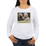 'Cherished' Women's Long Sleeve T-Shirt