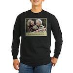 'Cherished' Long Sleeve Dark T-Shirt