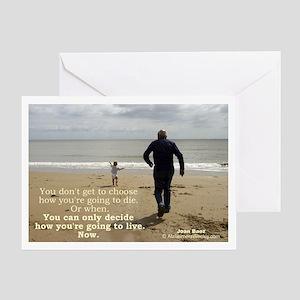 'Live' Greeting Card