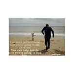 'Live' Rectangle Magnet (10 pack)