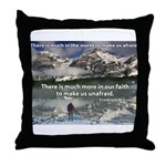 'Much More' Throw Pillow