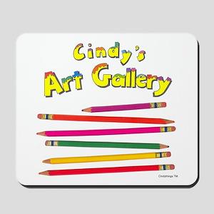 Colored Pencils Logo Mousepad