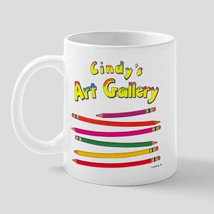 Colored Pencils Logo Mug