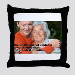 'A Small Act' Throw Pillow