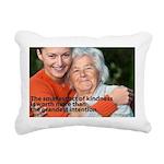 'A Small Act' Rectangular Canvas Pillow