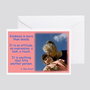 Granparents greeting cards cafepress kindness lifts greeting card m4hsunfo