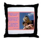 'Kindness Lifts' Throw Pillow