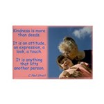 'Kindness Lifts' Rectangle Magnet (10 pack)