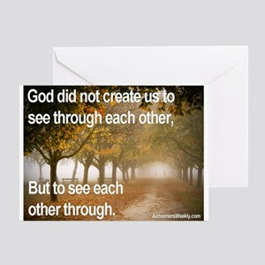 'Each Other' Greeting Card