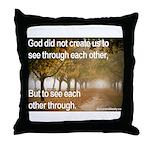 'Each Other' Throw Pillow
